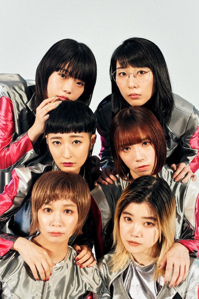 (左上から時計回りに)アイナ・ジ・エンド、ハシヤスメ・アツコ、アユニ・D、セントチヒロ・チッチ、モモコグミカンパニー、リンリン