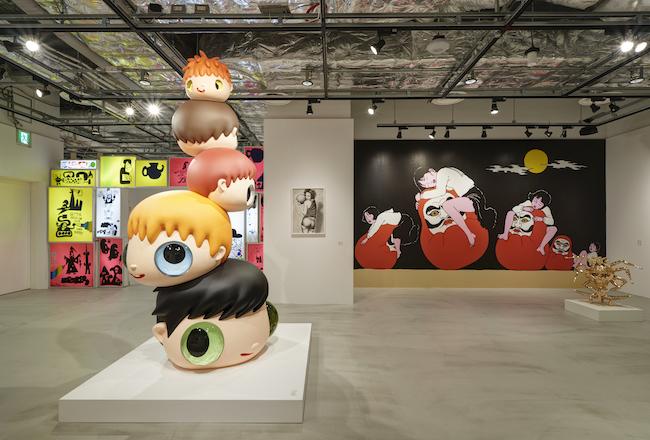 展示風景より。 GLOBAL POP UNDERGROUND PARCO MUSEUM TOKYO 東京, 2020, Photo by Shigeru Tanaka Courtesy of NANZUKA
