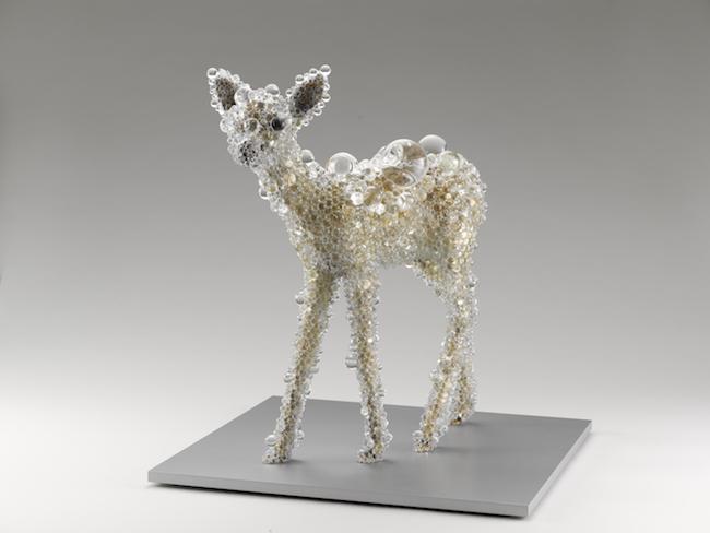 名和晃平『PixCell-Bambi #10』2014年 東京都現代美術館蔵 Photo by Ichiro Otani