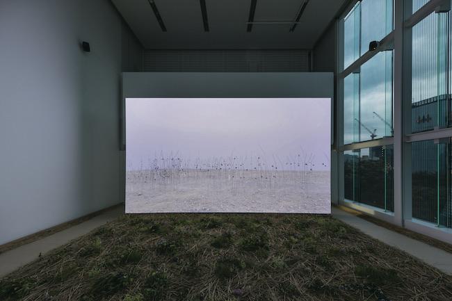 エスパス ルイ・ヴィトン東京「CHRISTIAN BOLTANSKI - ANIMITAS II」(2019年)の展示風景より。『アニミタス(死せる母たち)』、死海、イスラエル(2017年) Courtesy of the Fondation Louis Vuitton Photo: Jérémie Souteyrat © Adagp, Paris 2019