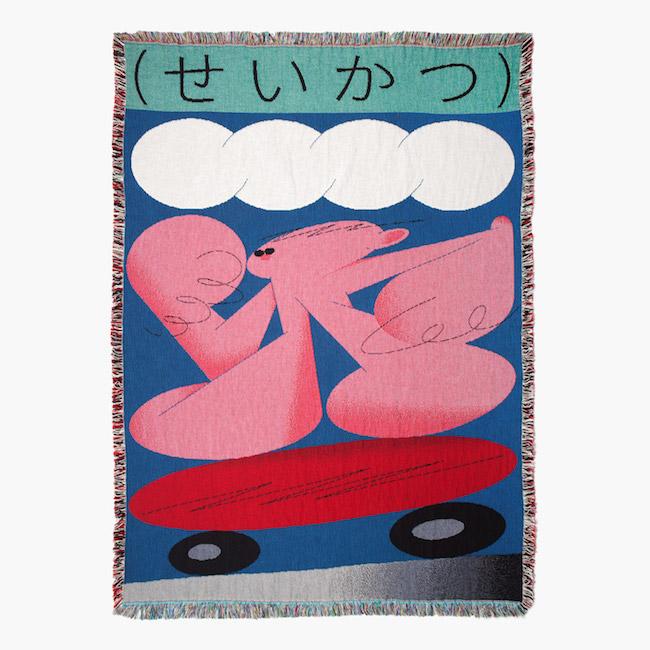ブランケット(佐々木俊) ¥32,000