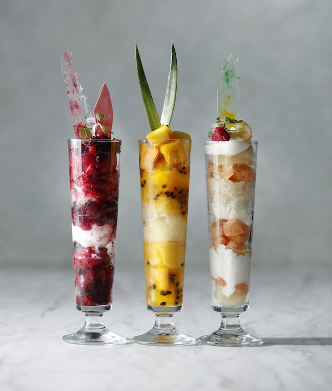 Summertime Parfait 各¥1,900(税・サービス料別)