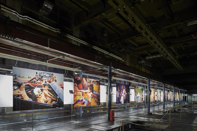 ローレン・グリーンフィールド / 京都新聞ビル 印刷工場跡(B1F)/ 2018年開催 / 会場写真 浅野豪