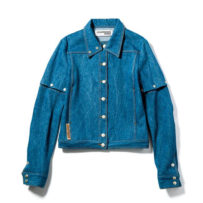 2WAYスリーブのジャケット¥103,000/Courreges(エドストローム オフィス 03-6427-5901)