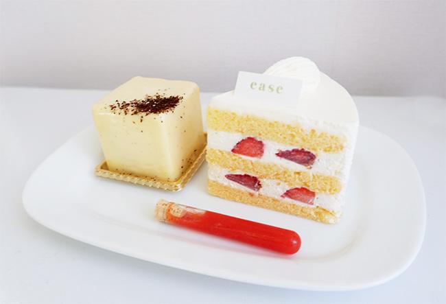 ティラミスとショートケーキ(山葵・苺)