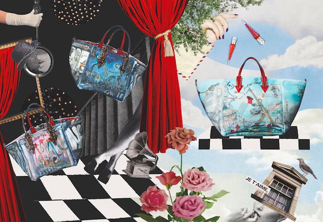 『ヌメロ・トウキョウ(Numero TOKYO)』2020年7・8合併号より、クリスチャン ルブタン新作バッグ「CABARAPARIS」 Artwork:Nao/petitoto