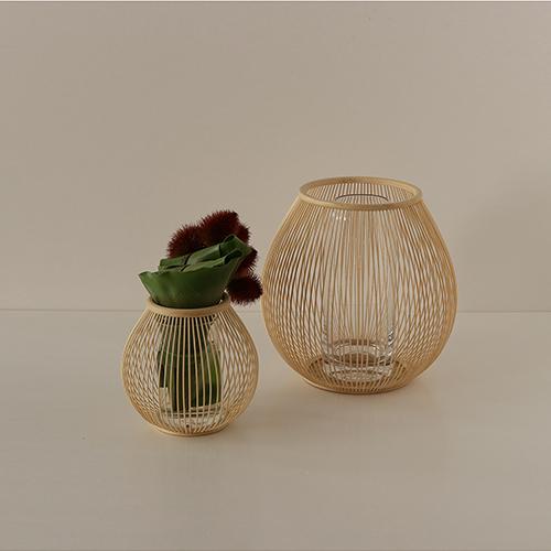 Bamboo Midneck hanakago(Large)¥15000 (Small)¥8000