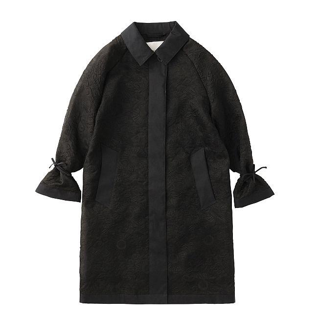 """""""LINDA COAT"""" ブラック ¥305,500"""