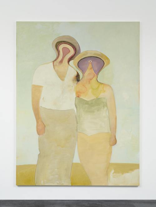 五木田智央『Late Marriage』2020 年 アクリル、パステル、カンヴァス 259.4 x 194 cm © Tomoo Gokita