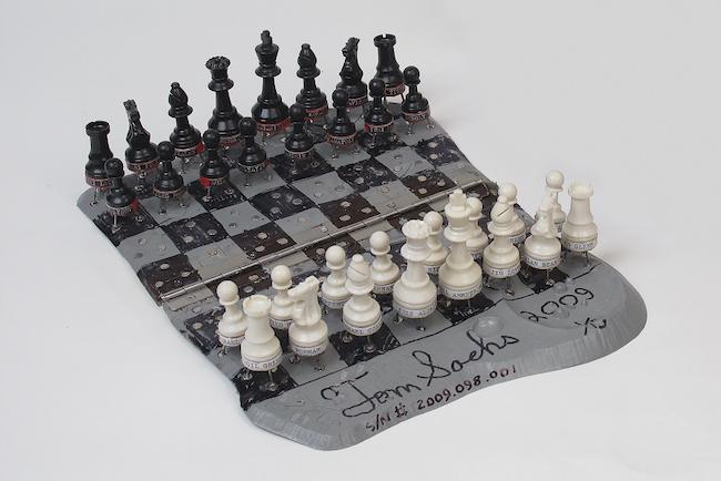 トム・サックス 『Chess Set』 ©Tom Sachs Courtesy of Tomio Koyama Gallery