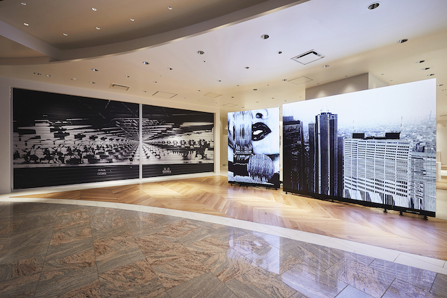 「SHINJUKU_RESOLUTION」(2020) @ISETAN THE SPACE. Installation View. Photographed by Tetsuya Yamakawa