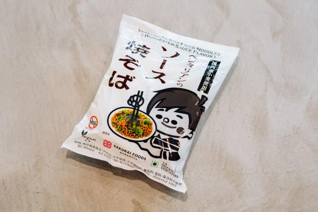 サクライフーズ ベジタリアンのソース焼そば 118g  ¥175 *パッケージ変更の可能性あり