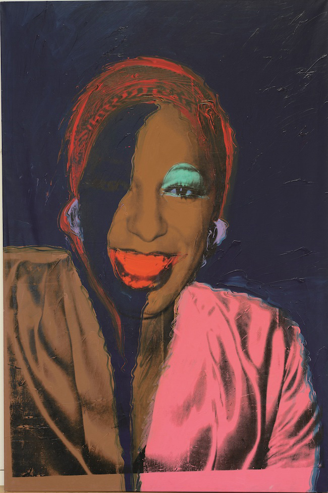 Andy Warhol, Ladies & Gentlemen, (1975) Acrylic and silkscreen ink on canvas 305 x 205cm © The Andy Warhol Foundation for the Visual Arts, Inc / Licensed by Adagp Paris, 2020