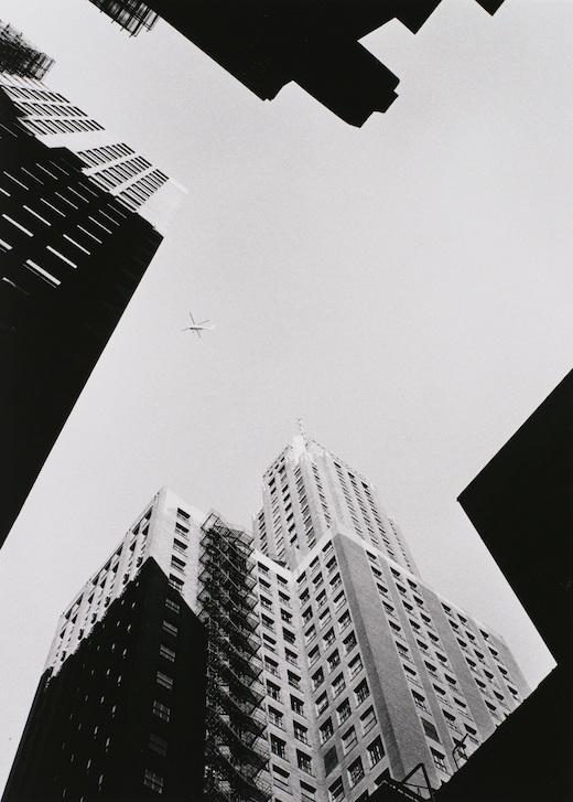 『シカゴ 街』(1959-61年) 東京都写真美術館蔵 ©高知県, 石元泰博フォトセンター