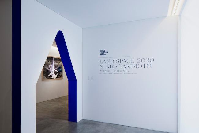 瀧本幹也「LAND SPACE 2020」(Sfera)の展示風景より。