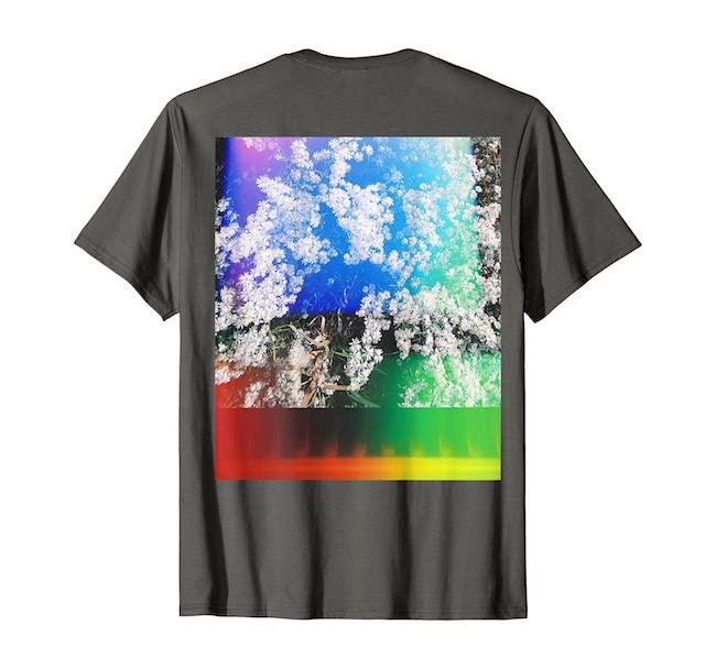 メンズ Rainbow Tシャツ¥5,000/Takako Noel