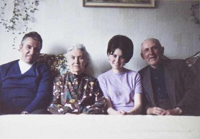 山田が蚤の市で購入し『Familie werden』の題材となった写真。
