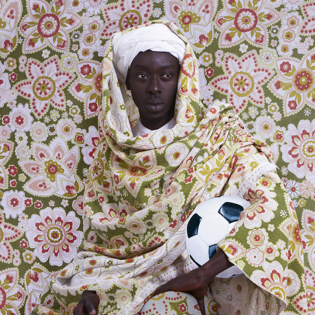 Morrocanman  ©Omar Victor Diop, Courtesy of Magnin-A Gallery.