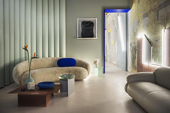 STUDIO PEPE(ストゥディオ・ペペ)による、架空の建築のインスタレーション『Desiderio(デジデリオ)』 (会場:ジャスマック 青山)