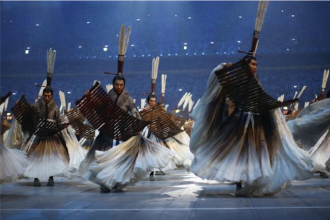 『北京夏季オリンピック開会式』(チャン・イーモウ演出、2008年)衣装デザイン ©2008 / Comité International Olympique(CIO) / HUET, John