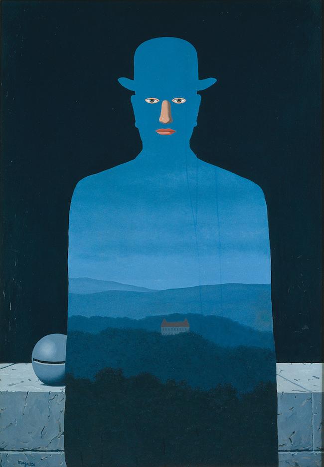 ルネ・マグリット 『王様の美術館』 (1966年) 横浜美術館蔵