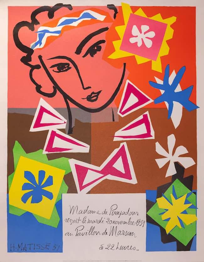 アンリ・マティス:装飾美術学校チャリティ・イベント 1951 Courtesy of Mourlot Editions