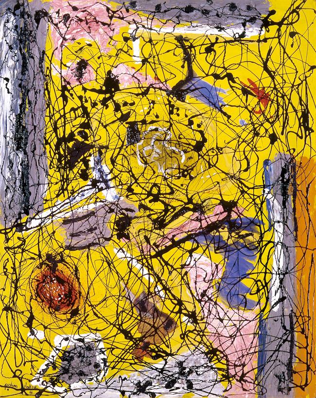 ジャクソン・ポロック 『無題』 (1946年) 富山県美術館蔵