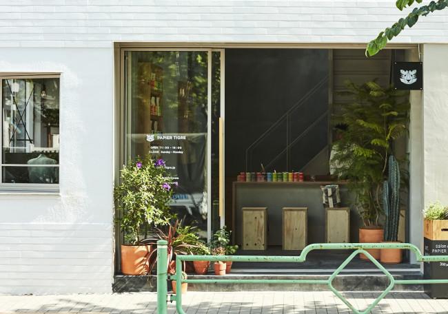 日本橋浜町の路面店