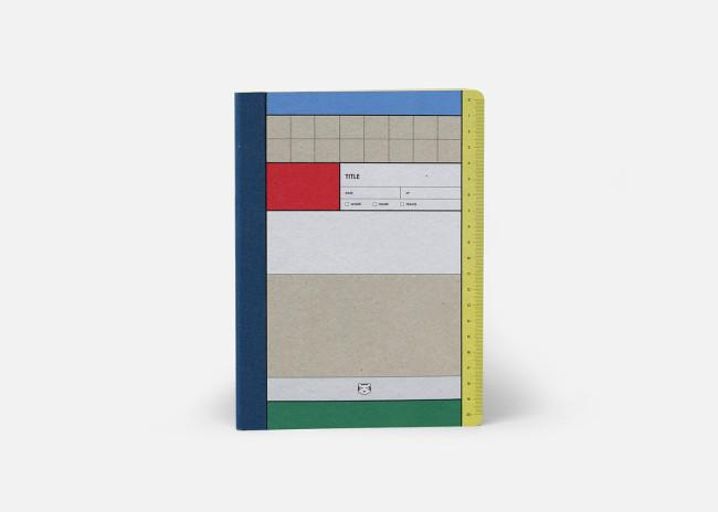 リサイクル素材を使ったA5サイズのノート¥1,400