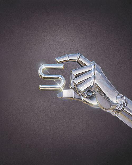 S: Hajime Sorayama Untitled-S,2020 © Hajime Sorayama