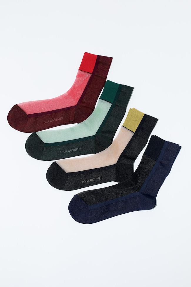 Bicolor Socks TABIO サイズ 22.5-24.5 ¥1,600