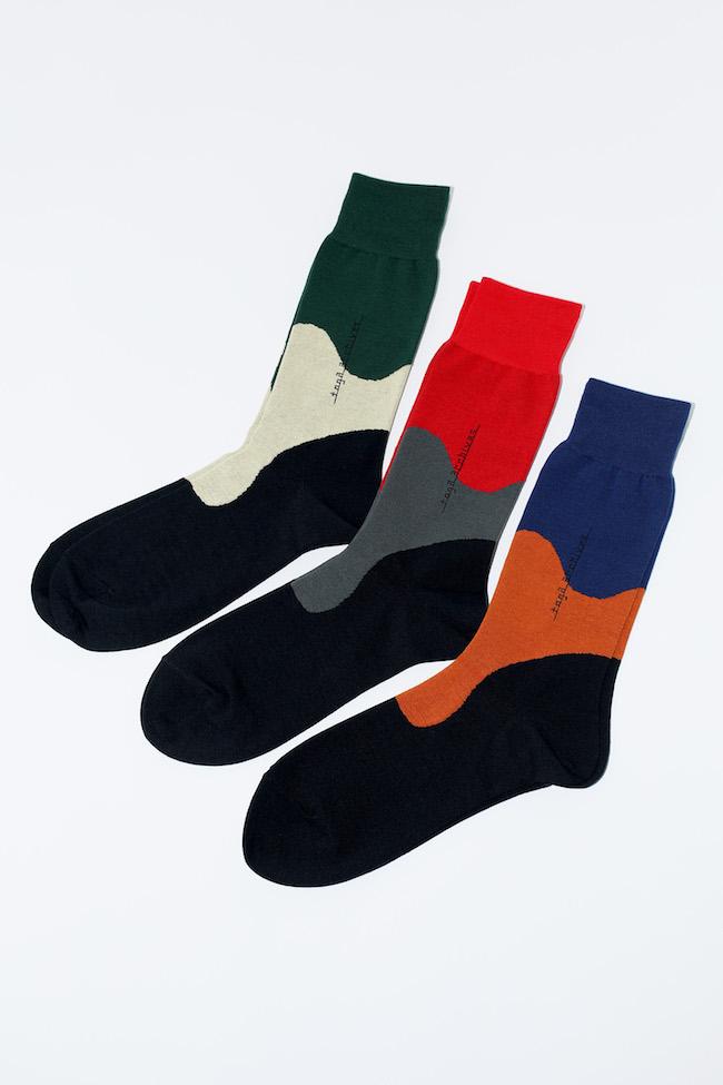 Color Panel Socks TABIO ¥1,800 サイズ 22.5-24.5、25-27