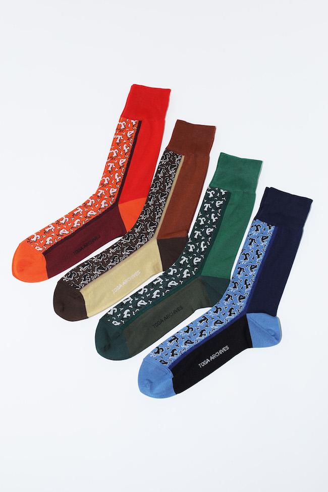 Small Jacquard Socks TABIO ¥1,800 サイズ 22.5-24.5、25-27 *Tabio限定店舗、Tabio Online storeでは12月23日(水)発売