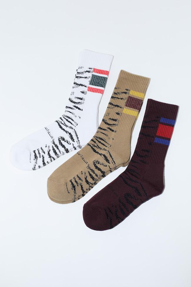 Tiger Jacquard Socks TABIO ¥2,000 サイズ 22.5-24.5、 25-27