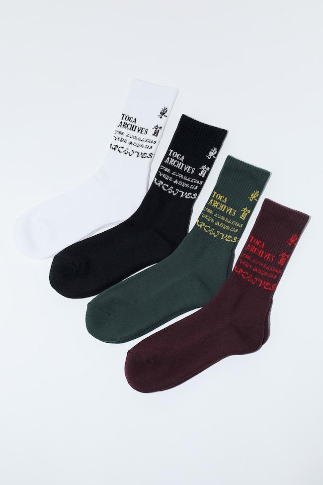 KANJI Jacquard Socks TABIO ¥2,000 サイズ 22.5-24.5、 25-27