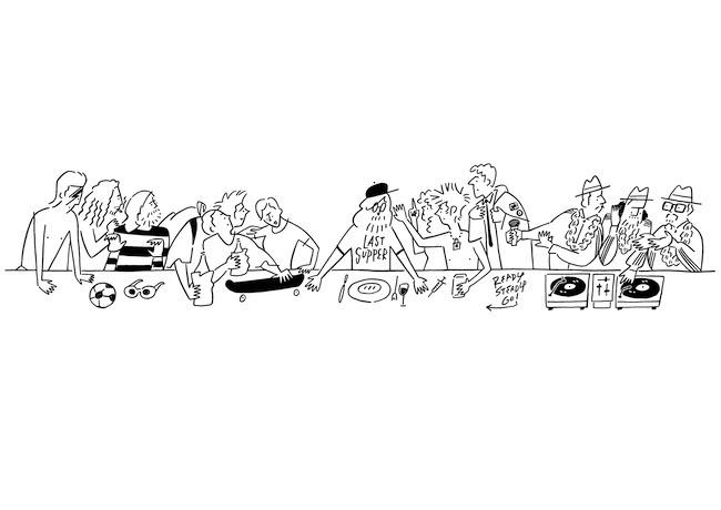 長場雄 『The Last Supper』