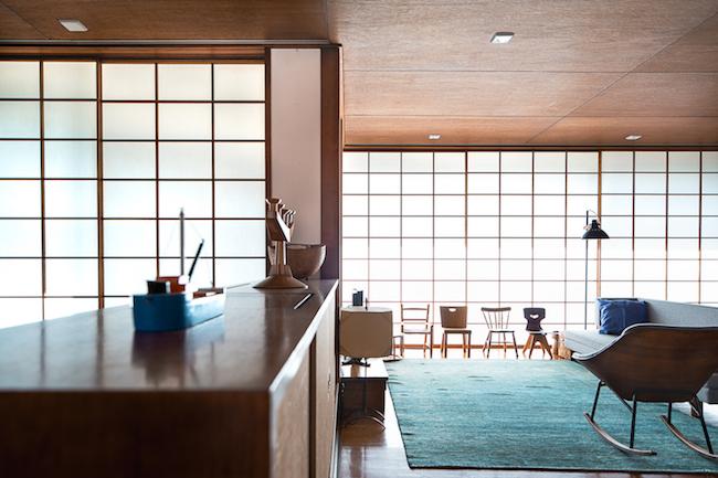 吉村順三 「湘南茅ヶ崎の家」 ©瀬尾憲司