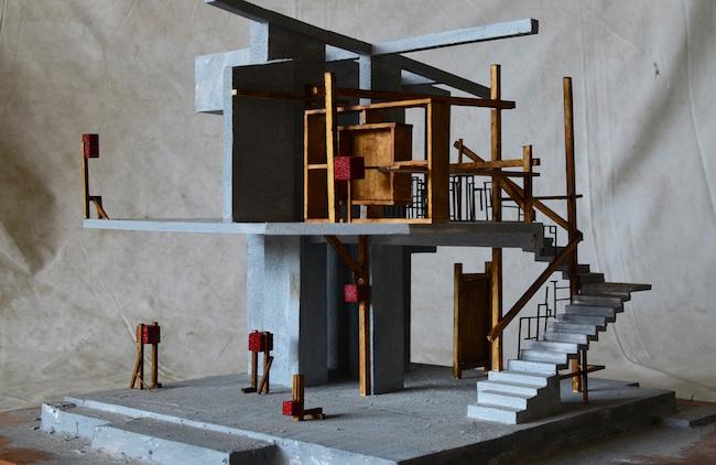 佐藤研吾 「シャンティニケタンの家」 模型 ©In-Field Studio