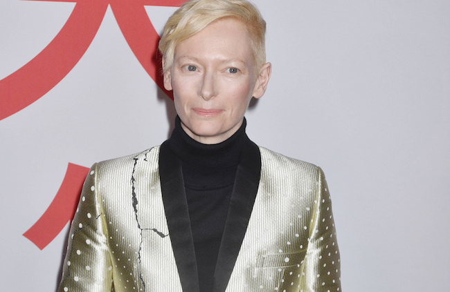 174340, Tilda Swinton at the Isle Of Dogs special screening at the Metropolitan Museum Of Art. New York City, New York - Tuesday March 20, 2018.  Photograph: © Darla Khazei, PacificCoastNews. Los Angeles Office (PCN): +1 310.822.0419 UK Office (Avalon): +44 (0) 20 7421 6000