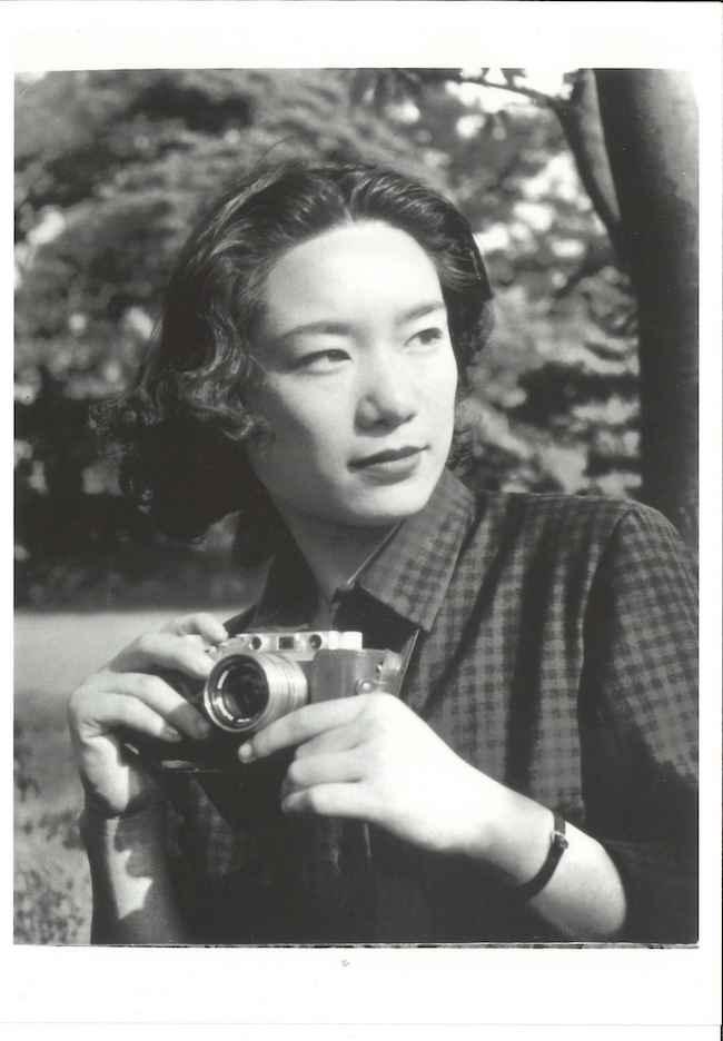 向田邦子 写真提供:かごしま近代文学館