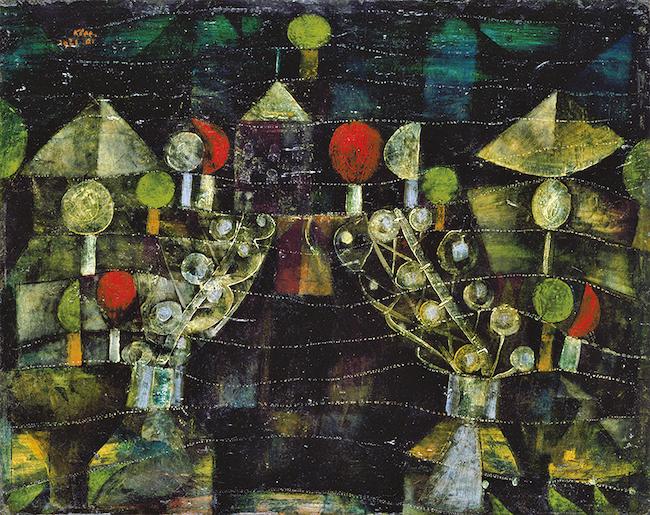 パウル・クレー 『女の館』 (1921年) 愛知県美術館蔵