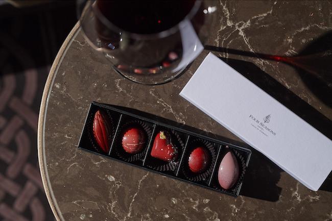 バレンタインギフト 5種のボンボンショコラ ¥2,800