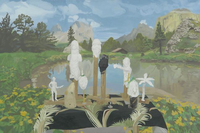 『平和な村』 (2006年) 高橋龍太郎コレクション蔵 © Masaya Chiba / courtesy of ShugoArts
