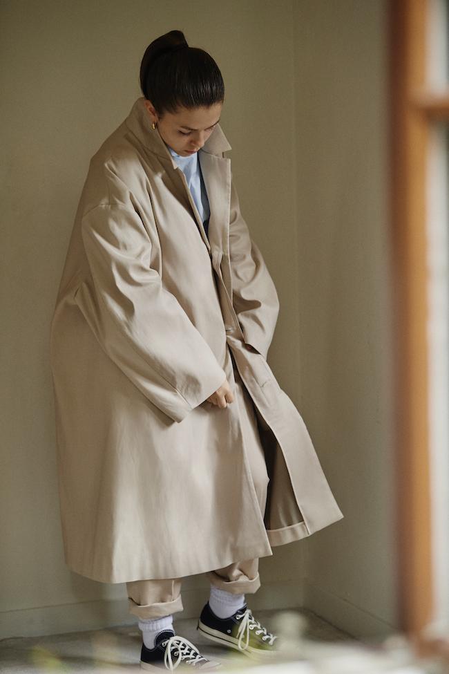 コート ¥110,000