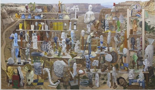 千葉正也 『平和な村』 (2019-2020年) 東京国立近代美術館蔵  © Masaya Chiba / courtesy of ShugoArts