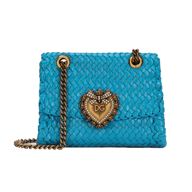 バッグ「ディヴォーション バッグ」(W20×H16×D5cm 2月中旬以降発売予定)¥281,000(予定価格)/Dolce&Gabbana(ドルチェ&ガッバーナ ジャパン 03-6419-2220)©DOLCE&GABBANA