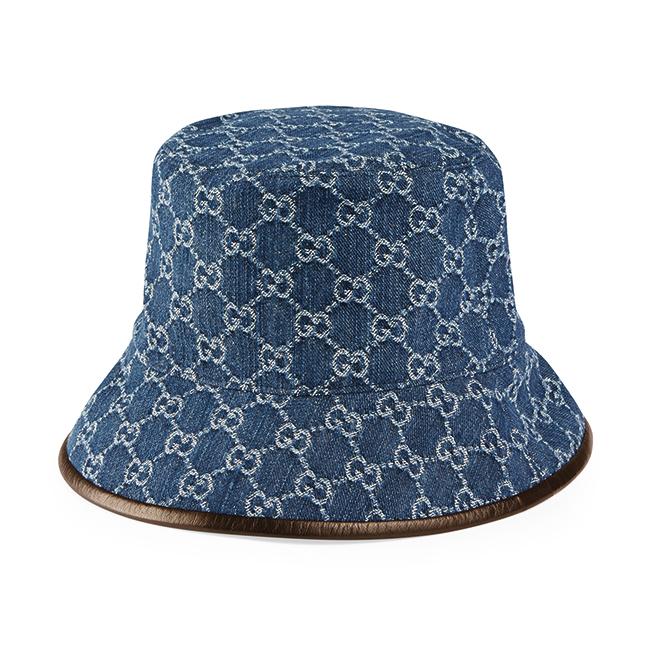 バケットハット¥55,000/Gucci(グッチ ジャパン クライアントサービス 0120-99-2177)