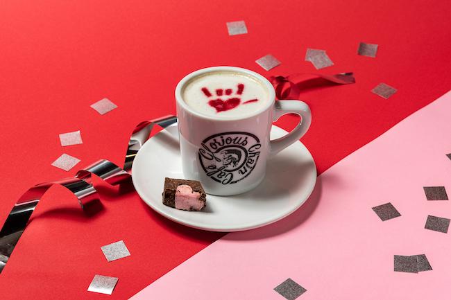 チョコレートアイリッシュコーヒー¥800(税込)