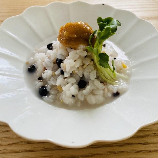 【連載】usagi bon ごはん vol.77 雑穀雑炊の卵味噌添え
