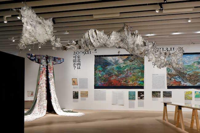 京都市京セラ美術館 「平成美術:うたかたと瓦礫(デブリ) 1989–2019」展示風景  Photo: Kioku Keizo